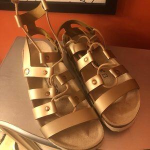 Birkenstocks size 38 sandals